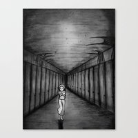 The nightmare Canvas Print