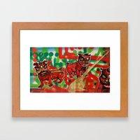 Gong Hey Fat Choy pt.2 Framed Art Print