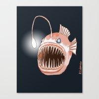 Anglerfish Canvas Print