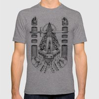 Vagamid - Lord of Fish Mens Fitted Tee Tri-Grey SMALL