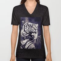 Sumartran Tiger In Two T… Unisex V-Neck