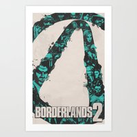 Borderlands 2 Art Print