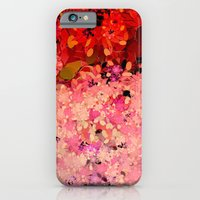 iPhone Cases featuring Two Different Worlds -- Floral Pattern by Ramo
