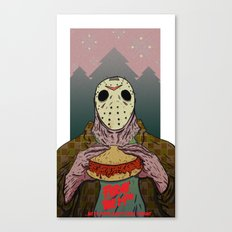 Friday The 14th Canvas Print