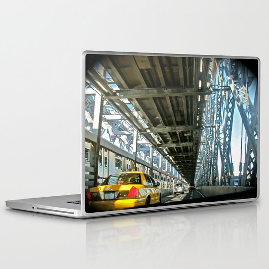 Washington Bridge, NYC Laptop & iPad Skin
