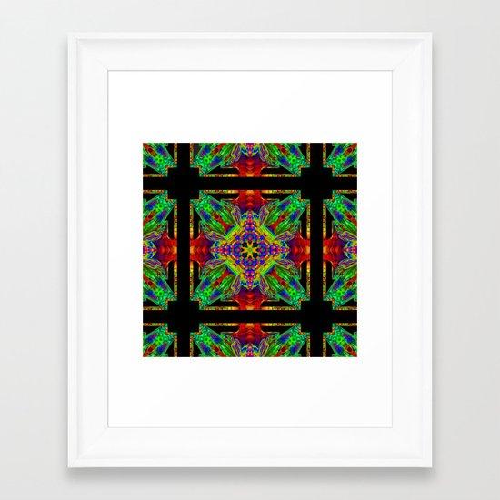 Logic and Emotion Framed Art Print