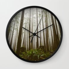 Rainforest of the Pacific Northwest Wall Clock