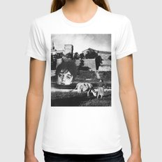 doherty Womens Fitted Tee White SMALL