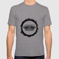 Half Creature Mens Fitted Tee Tri-Grey SMALL