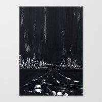 San Francisco Nightdrive Canvas Print