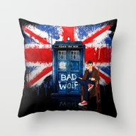 The King Of All Doctor W… Throw Pillow