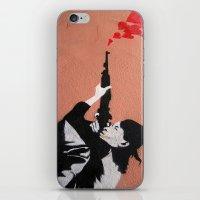 I LOVE YOUR GUN iPhone & iPod Skin
