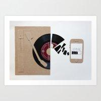 Music Today Art Print