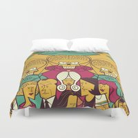 Mars Attacks! Duvet Cover