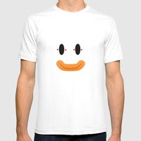 Super Mario World - Bows… Mens Fitted Tee White SMALL
