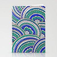 Ocean Mandala Stationery Cards