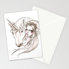 Her first Unicorn Stationery Cards