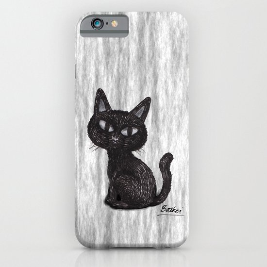 BLACK CAT 2 iPhone & iPod Case