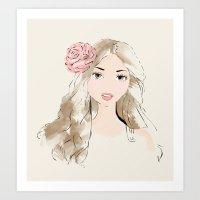 Girlie Art Print