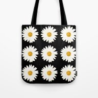 Tote Bag featuring Daisy by Nessieness