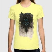 Armor Womens Fitted Tee Lemon SMALL