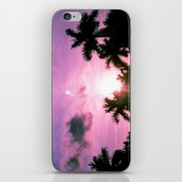 PINK(skies) iPhone & iPod Skin