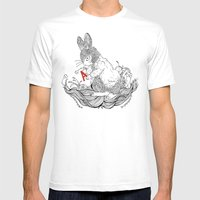 LE CHAPARDEUR 2 Mens Fitted Tee White SMALL
