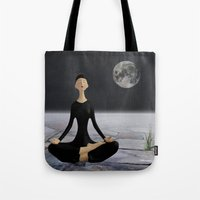 Let yourself drift through time and space Tote Bag