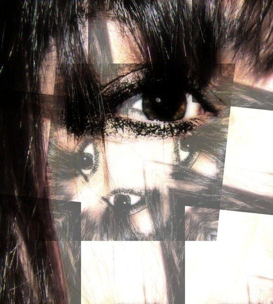Eye got my eyes on you  Canvas Print