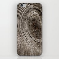Wood iPhone & iPod Skin