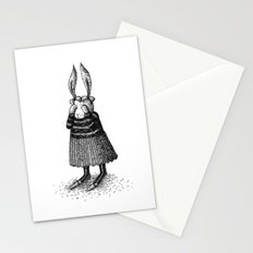Rabbit - Girl Stationery Cards