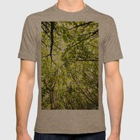 Verde Mens Fitted Tee Tri-Coffee SMALL