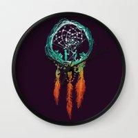 Dream Catcher (the Rusti… Wall Clock