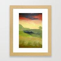 Fields of Grain Framed Art Print
