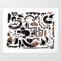 Urban Weekend Art Print