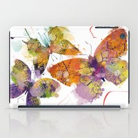 3 farfalle iPad Case