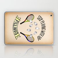 STOP PLAYING WITH MY FILLINGS (vintage) Laptop & iPad Skin