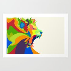 Like the Jungle Art Print