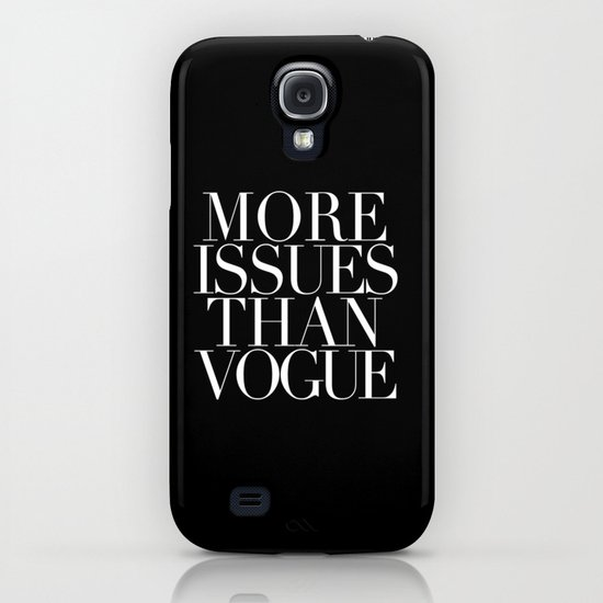 MORE ISSUES iPhone & iPod Case