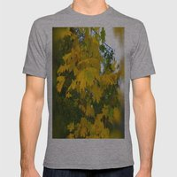 Autumn Facets 2 Mens Fitted Tee Athletic Grey SMALL