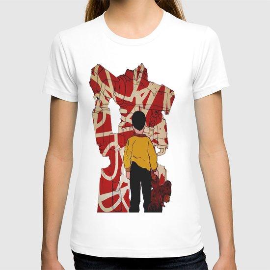 Graffiti transformer T-shirt