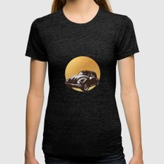 Beatle Womens Fitted Tee Tri-Black SMALL