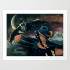 dovahkiin Art Print