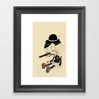 Unplug Framed Art Print