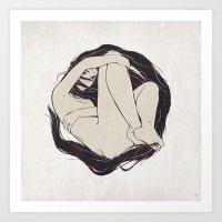 My Simple Figures: The C… Art Print