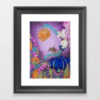 And So The Bird Sings... Framed Art Print