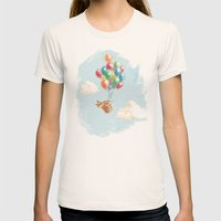 What's Next Womens Fitted Tee Natural SMALL
