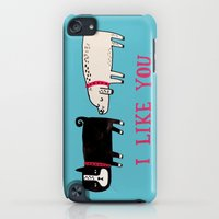 iPhone Cases featuring I Like You. by gemma correll