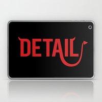 The Devil Is In The Deta… Laptop & iPad Skin
