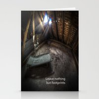 Urbex Bedroom Stationery Cards